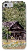 Rustic Cabin In The Mountains IPhone Case