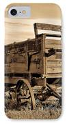 Rustic Covered Wagon IPhone Case by Athena Mckinzie
