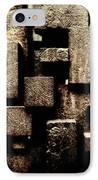 Rusty Art IPhone Case by Joan Carroll
