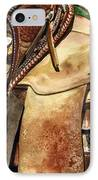 Saddle Texture IPhone Case by Nadi Spencer