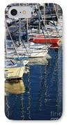 Sailboat Reflections IPhone Case by John Rizzuto