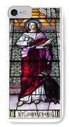 Saint John The Evangelist Stained Glass Window IPhone Case