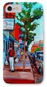 Saint Viateur Bagel Shop IPhone Case