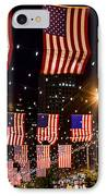 Salute To Old Glory IPhone Case by Teri Virbickis