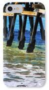 San Clemente Pier IPhone Case by Mariola Bitner