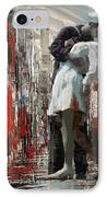 San Diego City Collage IPhone Case