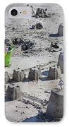 Sandcastle Squatters IPhone Case by Betsy Knapp