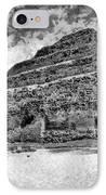 Saqqara Pyramid IPhone Case by George Rossidis