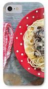 Sardines And Spaghetti IPhone Case
