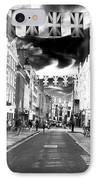 Saturday Stroll IPhone Case by John Rizzuto