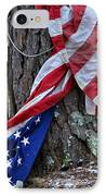 Save The Flag IPhone Case by Susan Leggett