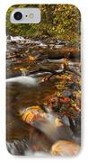 Scattered Leaves IPhone Case by Mike  Dawson