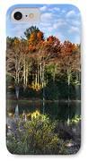 Scenic Autumn At Oakley's IPhone Case by Christina Rollo