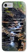 Scenic Cascade IPhone Case by Frozen in Time Fine Art Photography