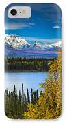 Scenic View Of Mt. Sanford L And Mt IPhone Case