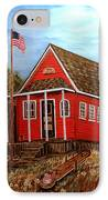 School House IPhone Case