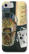 Scotch And Cigars 2 IPhone Case by Debbie DeWitt