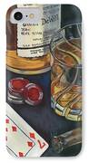 Scotch And Cigars 4 IPhone Case by Debbie DeWitt