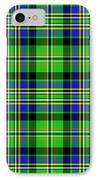 Scott Tartan Variant IPhone Case by Gregory Scott