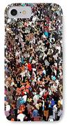 Sea Of People IPhone Case by Glenn McCarthy Art and Photography
