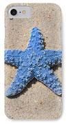 Sea Star - Light Blue IPhone Case
