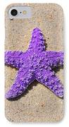 Sea Star - Purple IPhone Case by Al Powell Photography USA
