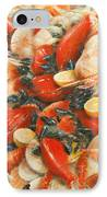 Seafood Extravaganza IPhone Case by Lincoln Seligman