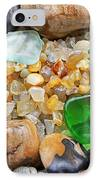 Seaglass Art Prints Coastal Beach Sea Glass IPhone Case by Baslee Troutman