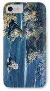 Seascape On Ca Highway 1 IPhone Case by Gregory Scott