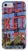 Seattle Market  IPhone Case by Brian Jannsen