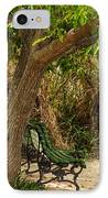 Secluded Park Benches IPhone Case by Jess Kraft