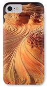 Second Wave Flow IPhone Case