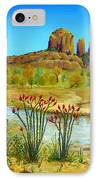 Sedona Arizona IPhone Case by Jerome Stumphauzer