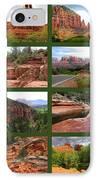 Sedona Spring Collage IPhone Case by Carol Groenen