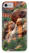 Sedona Stripes IPhone Case by Carol Groenen