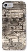 Sepia Rustic Old Colorado Barn Door And Window IPhone Case by James BO  Insogna