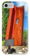 September 11th Memorial Mantua N J IPhone Case by Nick Zelinsky