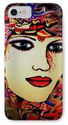 Serena IPhone Case by Natalie Holland