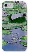 Serene To The Extreme IPhone Case by Frozen in Time Fine Art Photography
