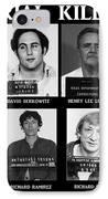 Serial Killers - Public Enemies IPhone Case