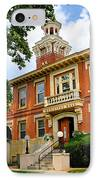 Sewickley Pennsylvania Municipal Hall IPhone Case
