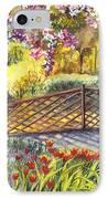 Shakespeare Garden Central Park New York City IPhone Case by Carol Wisniewski
