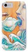 She Blows IPhone Case by Reid Jenkins