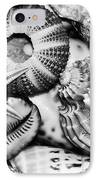 Shellscape In Monochrome IPhone Case