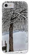 Shenandoah Winter Serenity IPhone Case by Lara Ellis