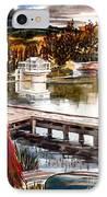 Shepherd Mountain Lake Bright IPhone Case by Kip DeVore