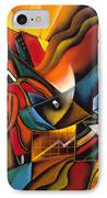 Shopping IPhone Case by Leon Zernitsky