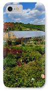 Shrubbery At A Greenhouse IPhone Case