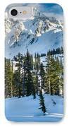 Shuksan Winter Paradise IPhone Case by Inge Johnsson