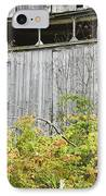 Side Of Barn In Fall IPhone Case